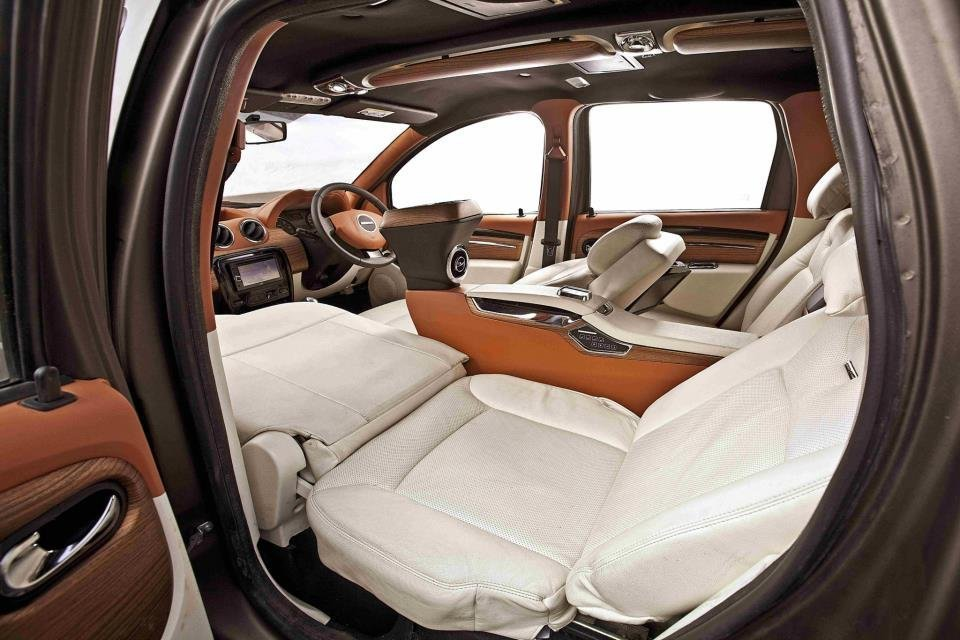Dc Lounge Renault Duster Interior Rear Seat Image