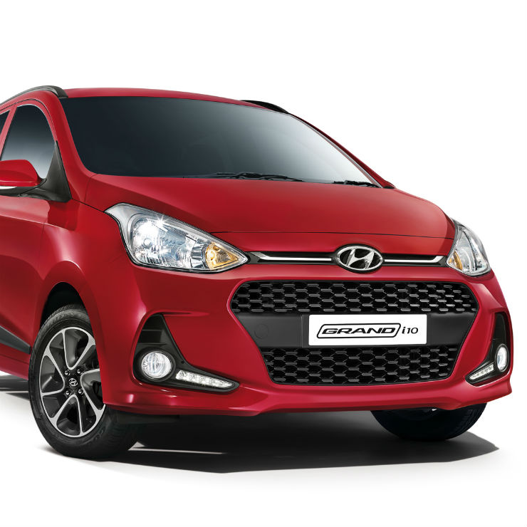 Grand I10 Red