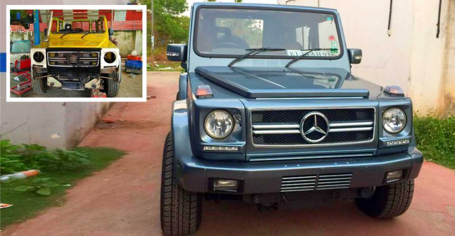 देखिये Mahindra Bolero और Force Gurkha के खूबसूरत Mercedes G-Wagen अवतार