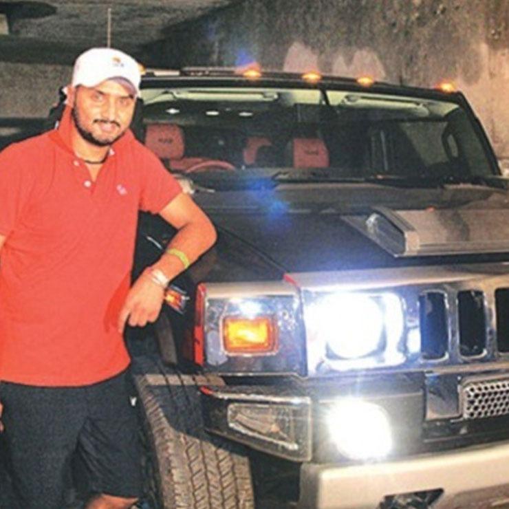 Harbhajan Singh Hummer H2 Black