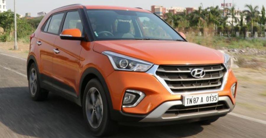 Hyundai Creta Facelift Images