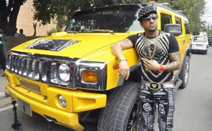 Jazzy B Hummer Yellow