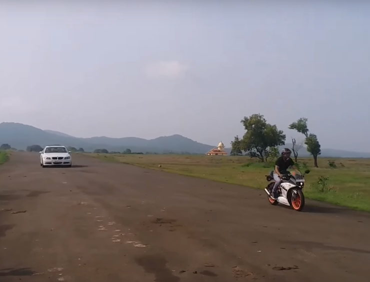 Ktm Vs Bmw Drag Race