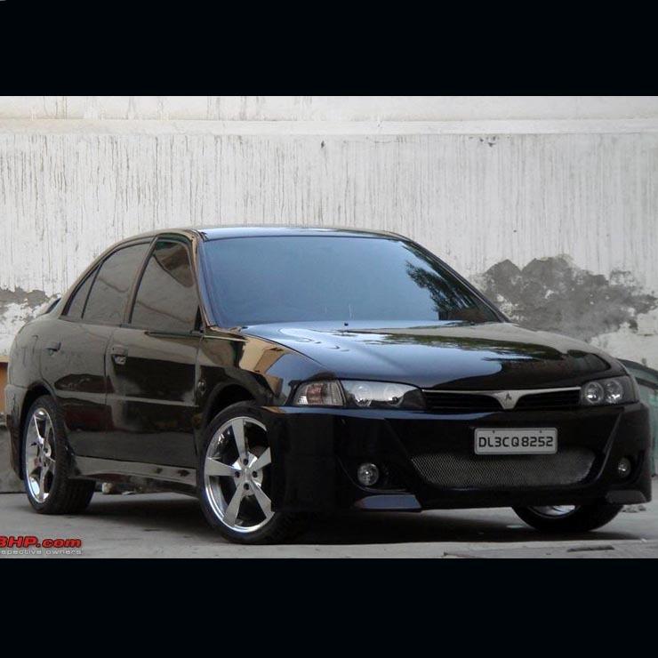 Mitsubishi Lancer Black