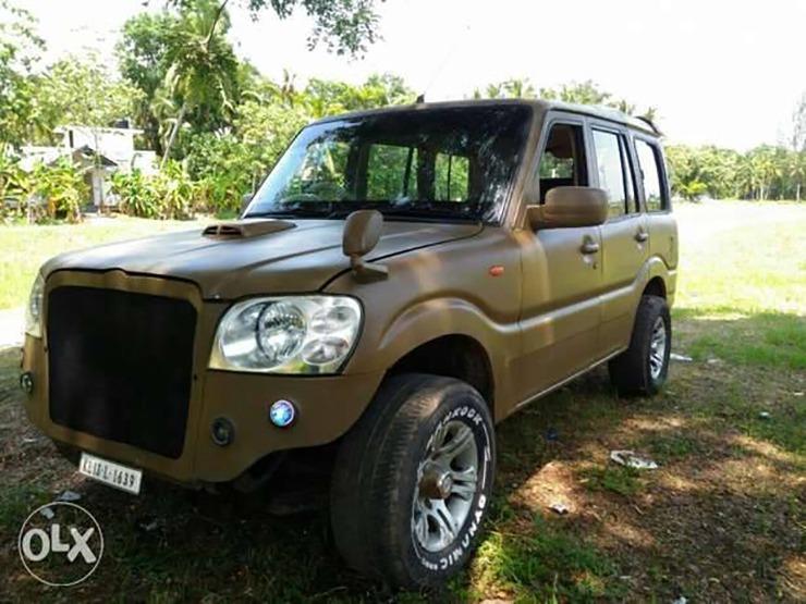 Modified Mahindra Scorpio Hot 6