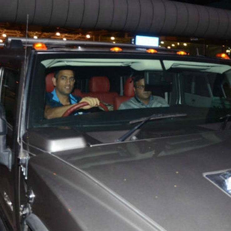 Ms Dhoni Hummer H2 Grey