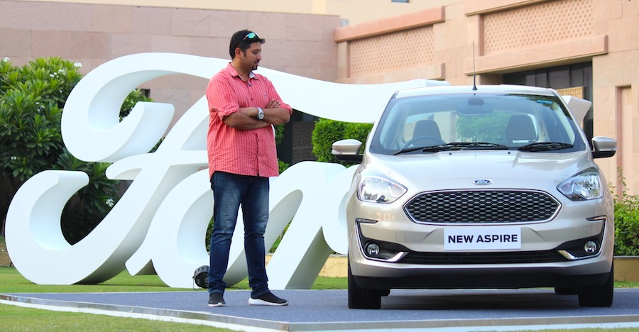 New Ford Aspire Front Featured