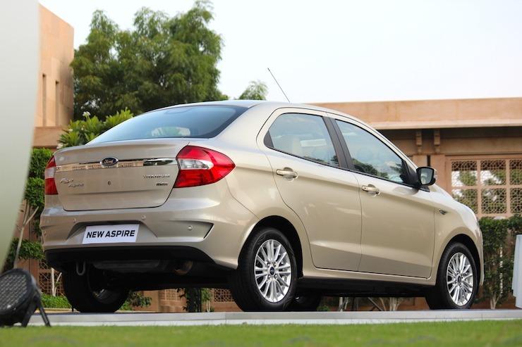 New Ford Aspire Rear
