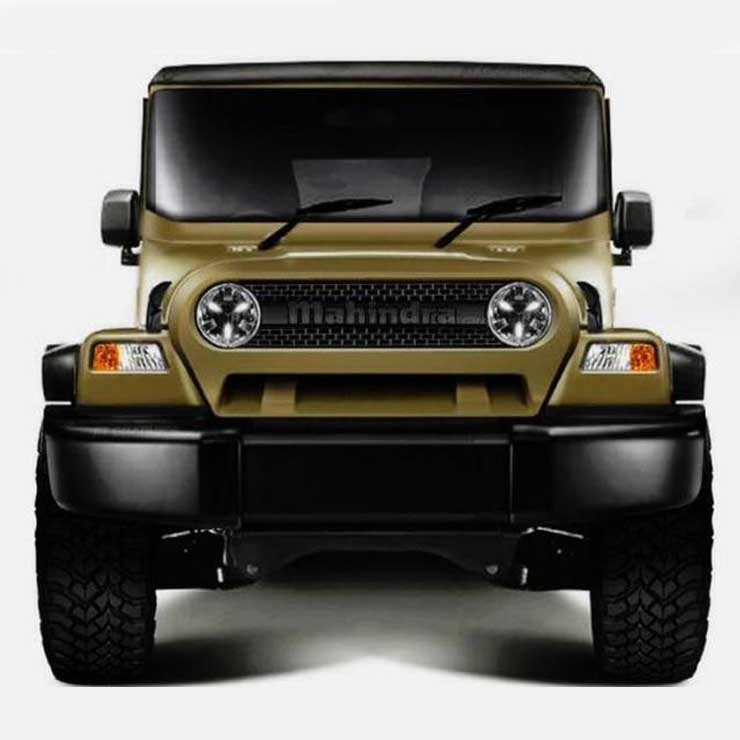 New Generation Mahindra Thar