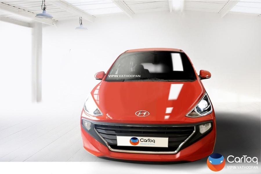 New Hyundai Santro Render