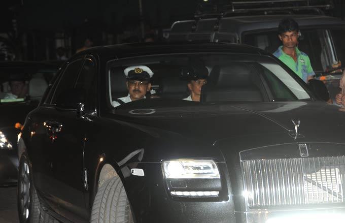 Parmeshwar Godrej Rolls Royce Phantom