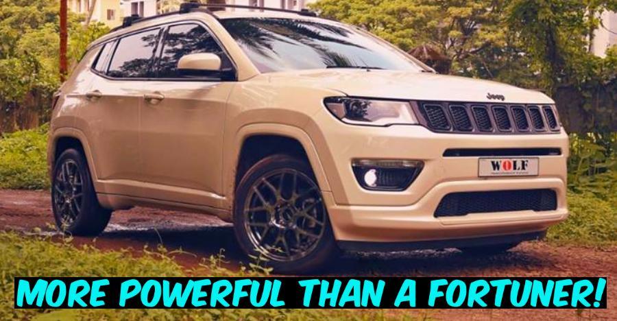 पेश है भारत की सबसे पावरफुल Jeep Compass…