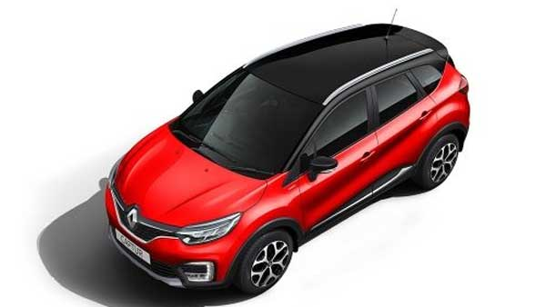 Renault Captur Red 2