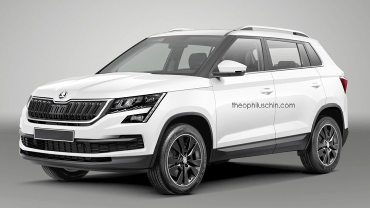 Skoda Small Suv For India