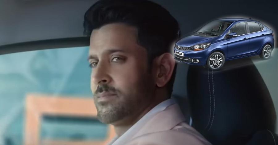 2018 Tata Tigor के पहले TV विज्ञापन में नज़र आये Hrithik Roshan
