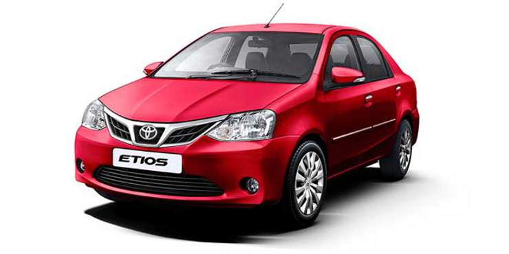 Toyota Etios Red