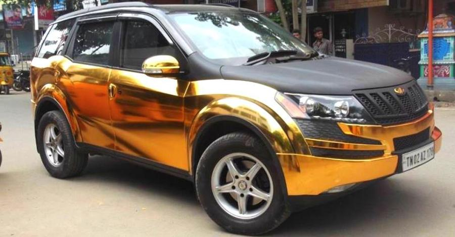 Xuv500 Gold Featured