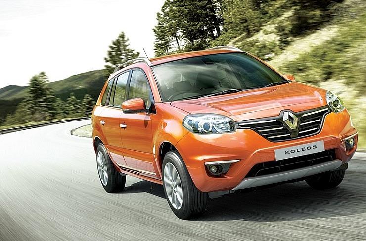2014 Renault Koleos Crossover Facelift