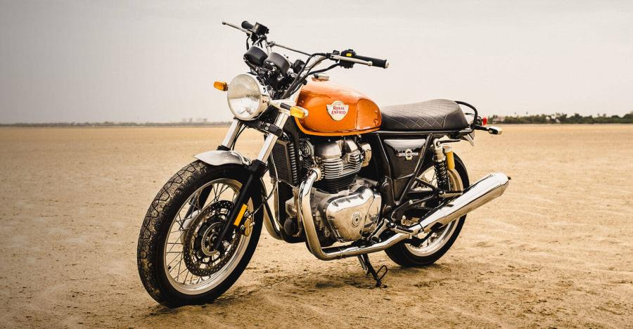 2019 Royal Enfield Interceptor 650 Production Version 1