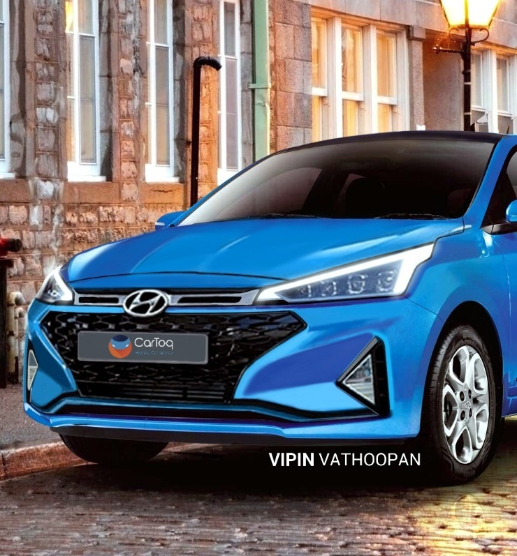 2019 Hyundai Elite I20 Render 1