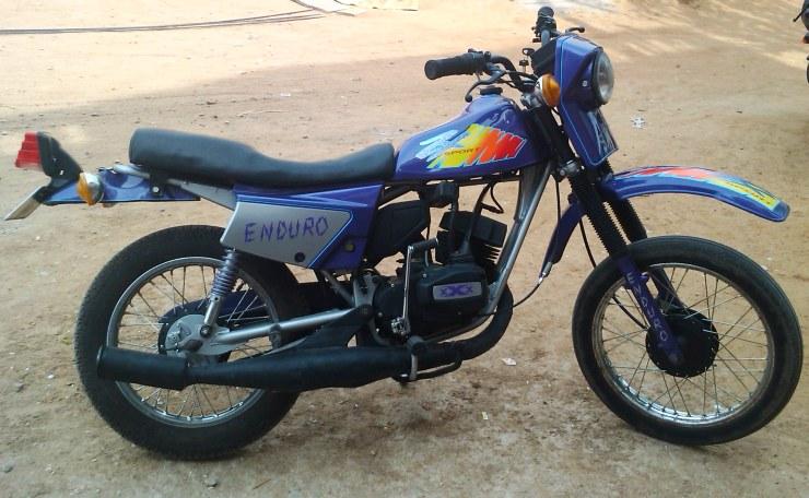 Bajaj Kawasaki Enduro Sx