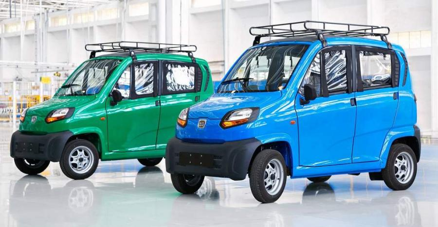 Bajaj Qute Quadricycle Featured