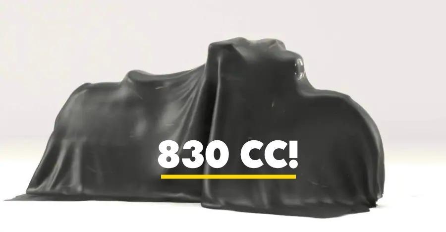 Bobber 830 Teaser