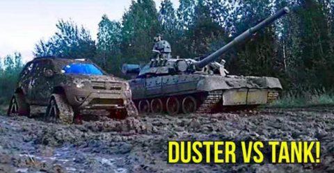 Duster Vs Tank