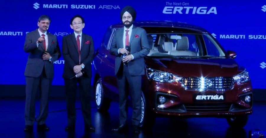 Ertiga Launched
