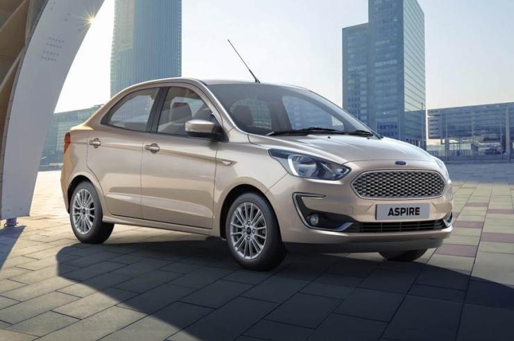 Ford Figo Aspire Facelift Studio Shot 2