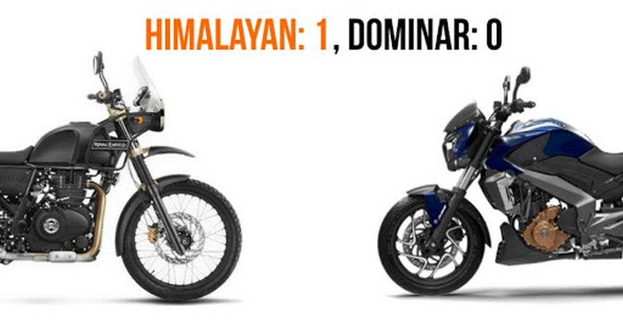 Himalayan Outsells Dominar Featured
