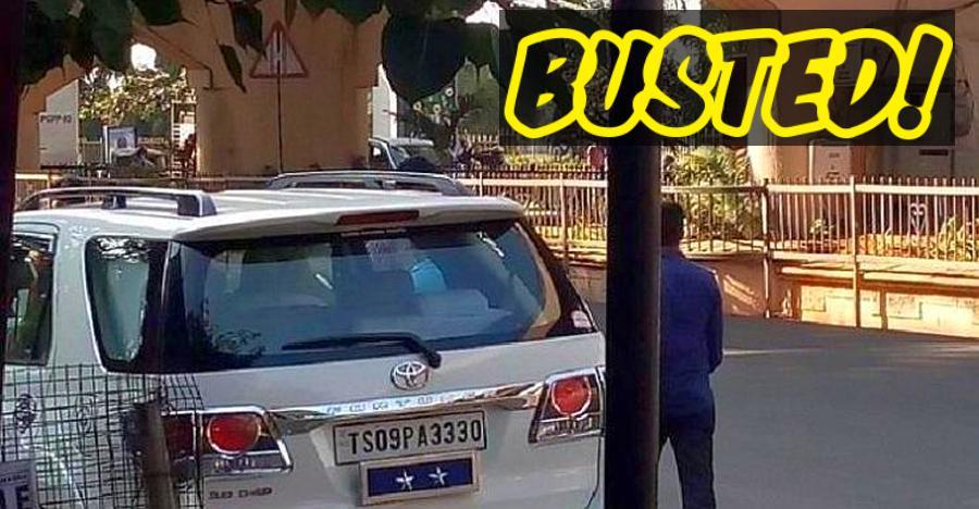 पुलिस कमिश्नर की Toyota Fortuner का कटा चालान, एक क़ानून ऐसा भी
