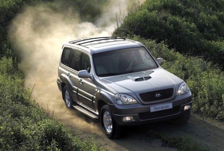 Hyundai Terracan Silver