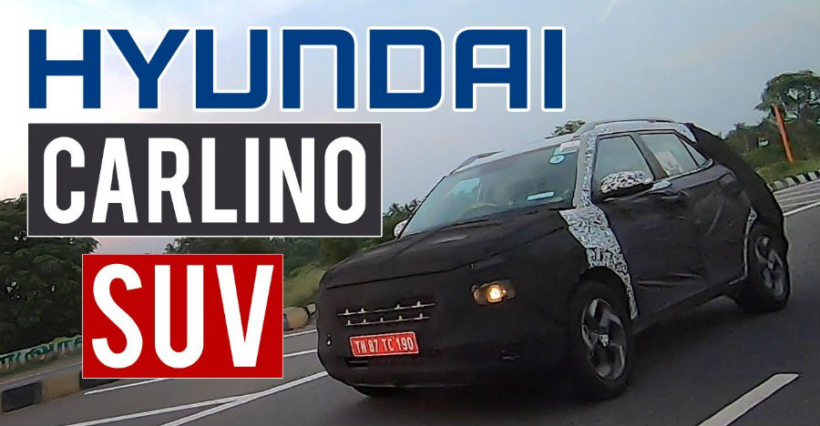 Hyundai Carlino Styx Spy Video
