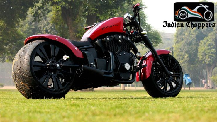 Indian Chopper Rogue Red