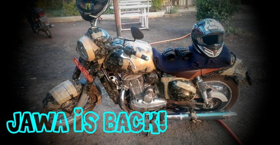 Jawa 300cc Motorcycle Spyshot Featured