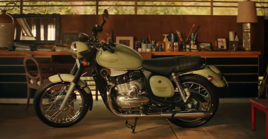Royal Enfield प्रतिद्वंदी Jawa ने जारी किया अपनी मोटरसाइकिल के लिए पहला प्रचार