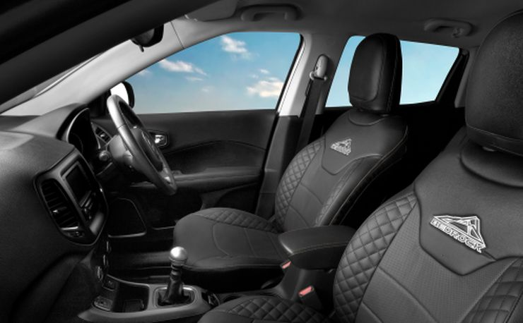 Jeep Compass Bedrock Interiors