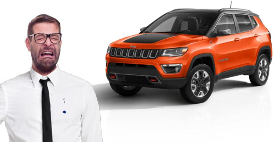 Jeep Compass Sales Drop Featured