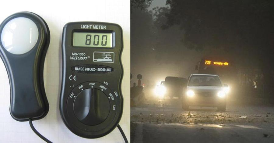 मॉडिफाइड हेडलैंप वाली कार्स के मालिकों पर जुर्माना लगाने के लिए पुलिसवालों को दिए गए लाइट मीटर