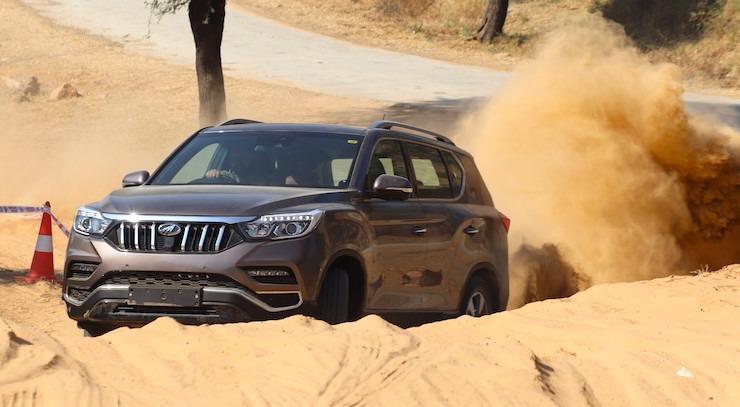 Mahindra Alturas Off Roading 11