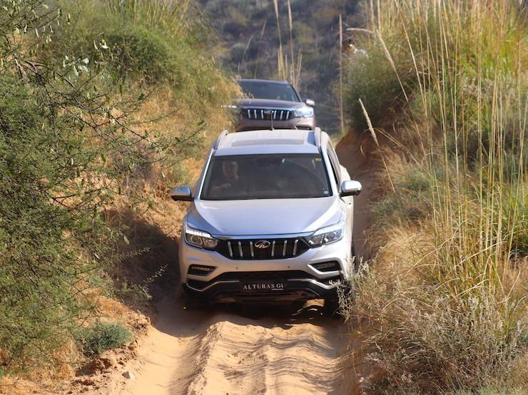 Mahindra Alturas Off Roading 3