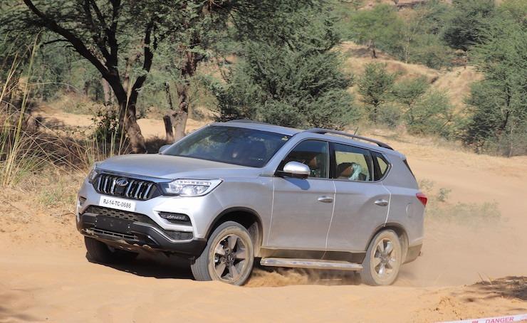Mahindra Alturas Off Roading 4