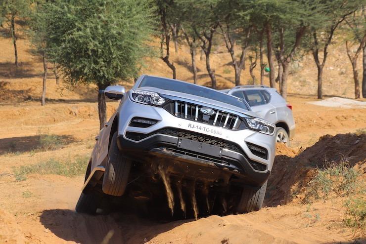Mahindra Alturas Off Roading 5