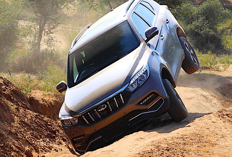 Mahindra Alturas Off Roading 7