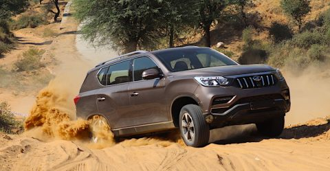 Mahindra Alturas Off Roading Featured