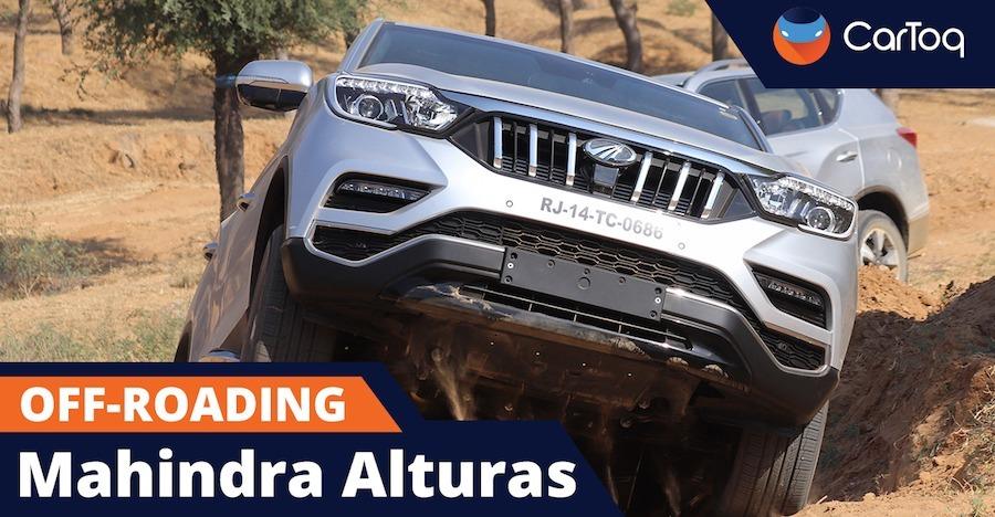 देखिये Mahindra Alturas G4 SUV का पहला ऑफ-रोडिंग विडियो
