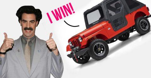 Mahindra ने जीता Fiat Chrysler के खिलाफ केस; Thar पर आधारित Roxor बिकेगी अमेरिका में!