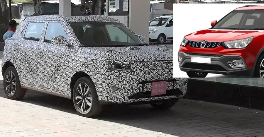 Mahindra S201 Compact Suv Spyshot Featured