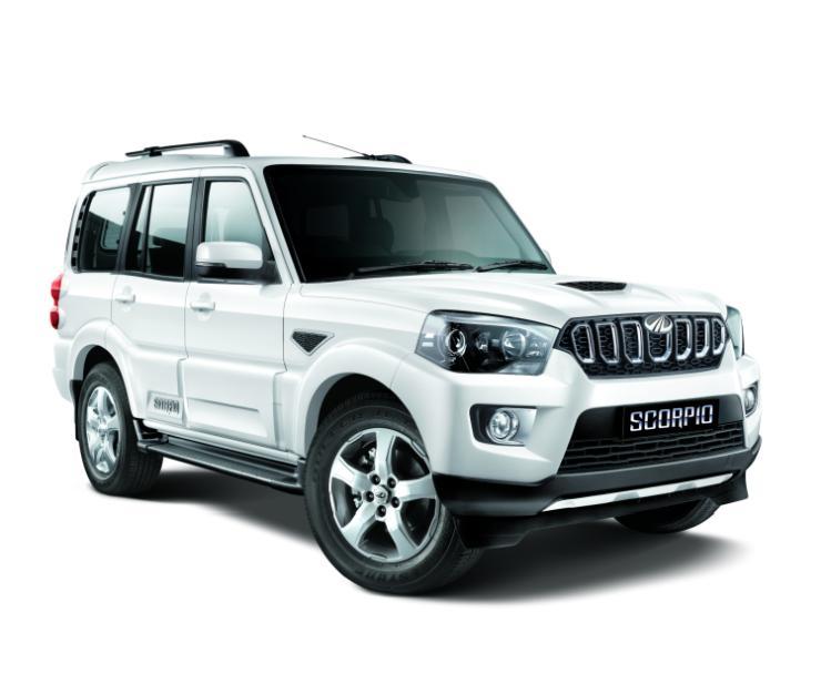 Mahindra Scorpio S9 White